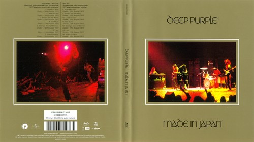 Deep Purple - Made in Japan (2014) [Blu-ray Audio]
